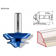 Фреза кромочная для углового сращивания, D= 50,8мм, рабочая длина-22,5мм,хв.-12мм, ЗУБР Профессионал